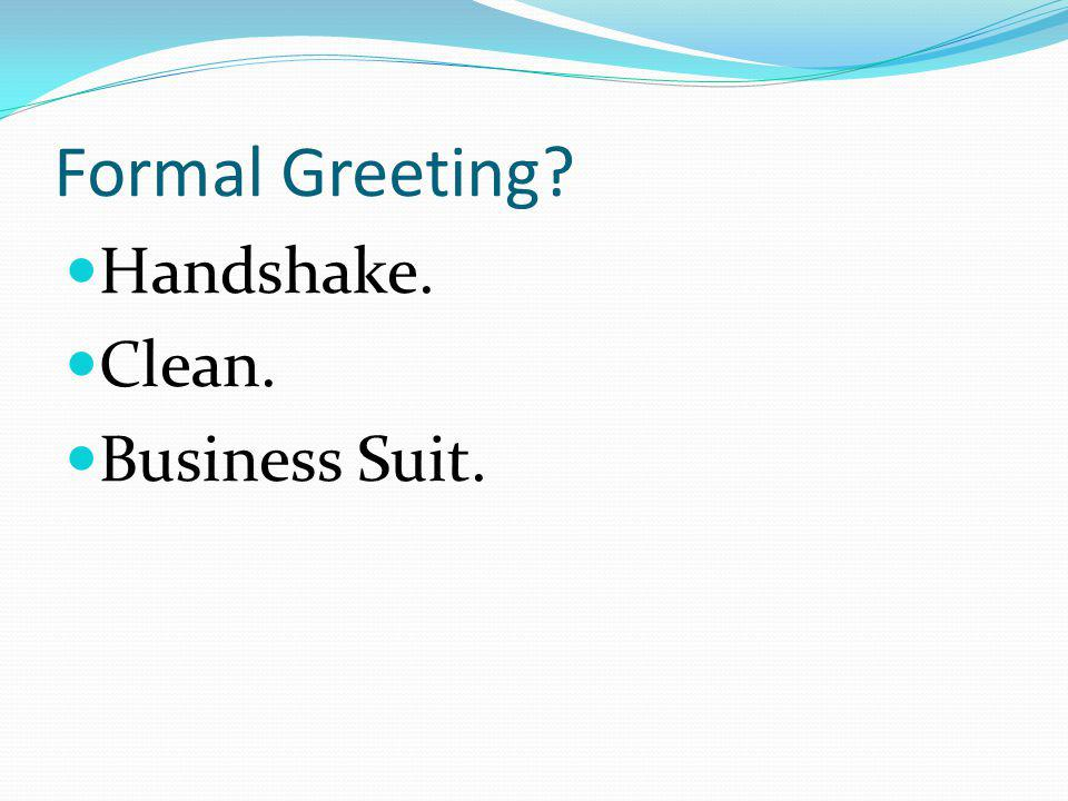 Formal Greeting Handshake. Clean. Business Suit.
