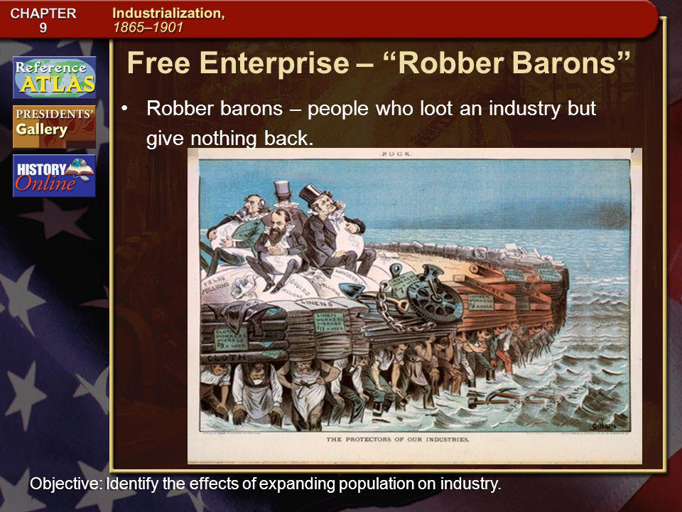 Free Enterprise – Robber Barons