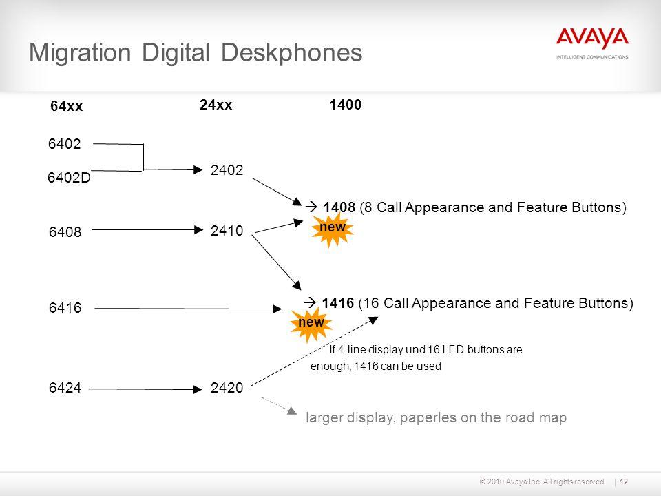 Migration Digital Deskphones