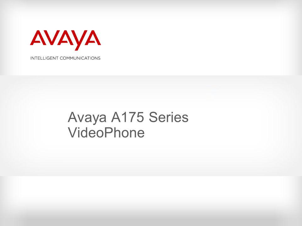 Avaya A175 Series VideoPhone