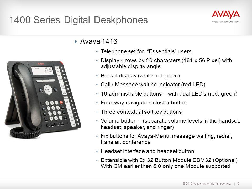 1400 Series Digital Deskphones