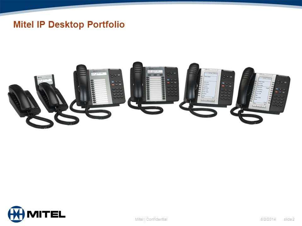 Mitel IP Desktop Portfolio