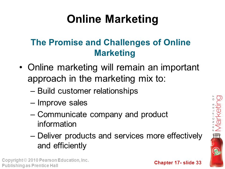 The Promise and Challenges of Online Marketing