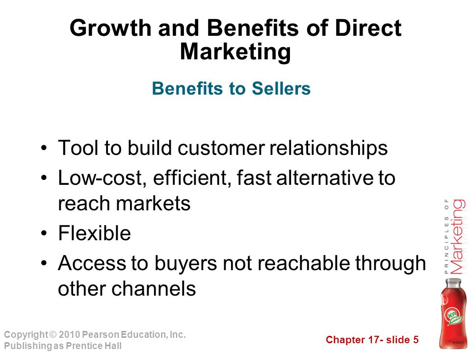 Growth and Benefits of Direct Marketing