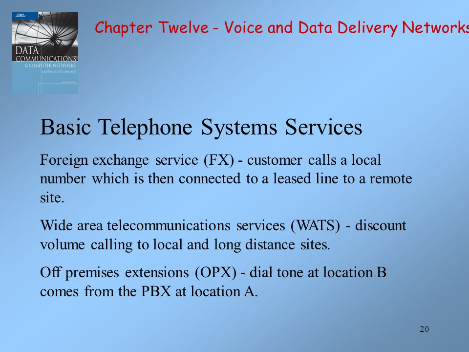 Basic Telephone Systems Services