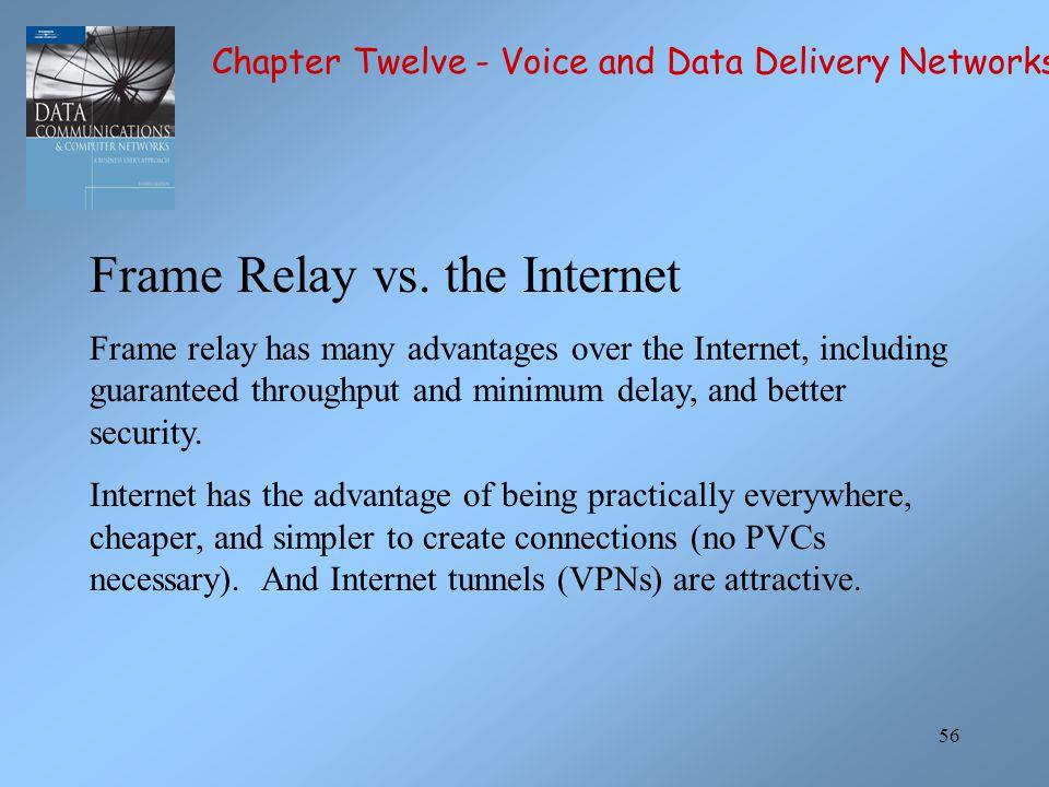 Frame Relay vs. the Internet
