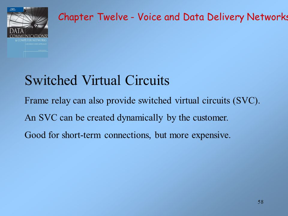 Switched Virtual Circuits
