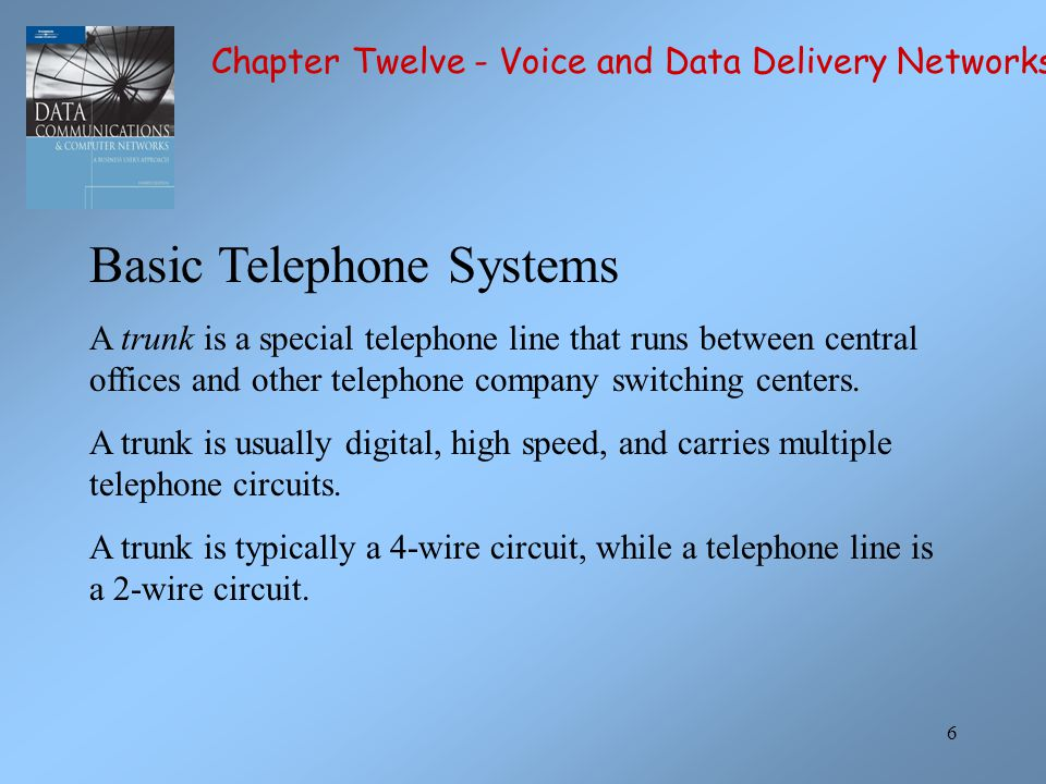 Basic Telephone Systems