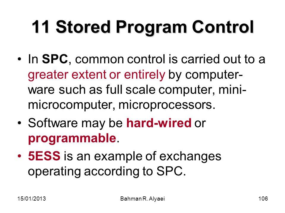 11 Stored Program Control