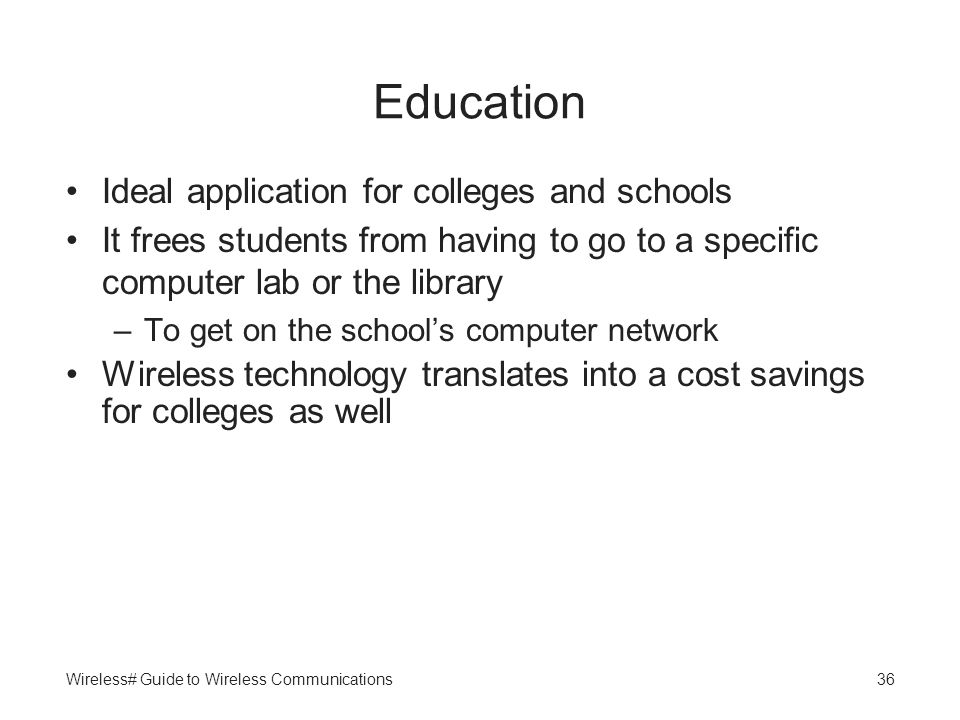 Education Ideal application for colleges and schools