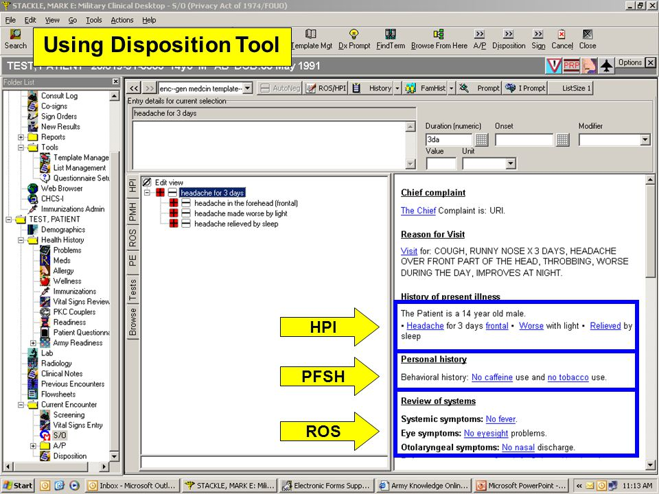 Using Disposition Tool