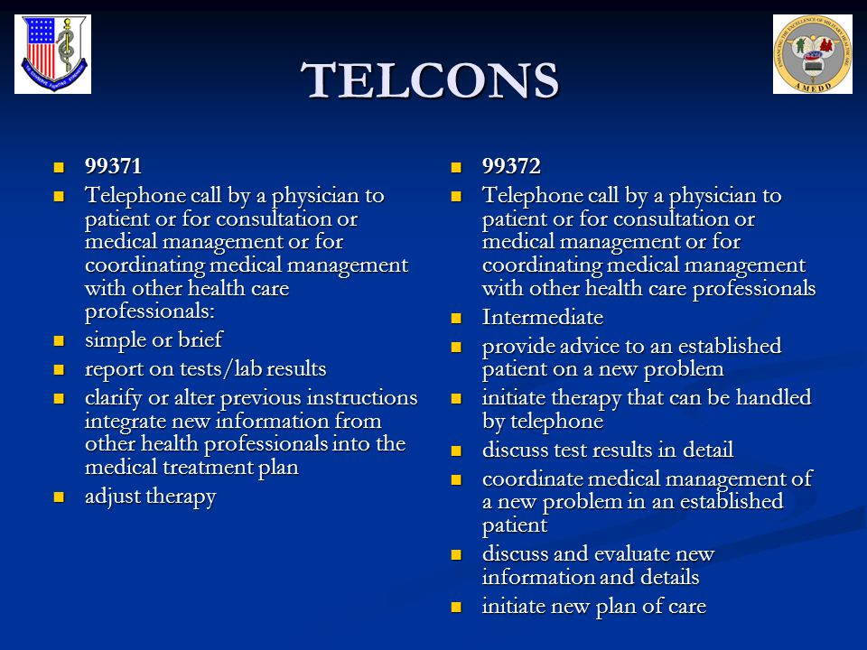 TELCONS 99371.
