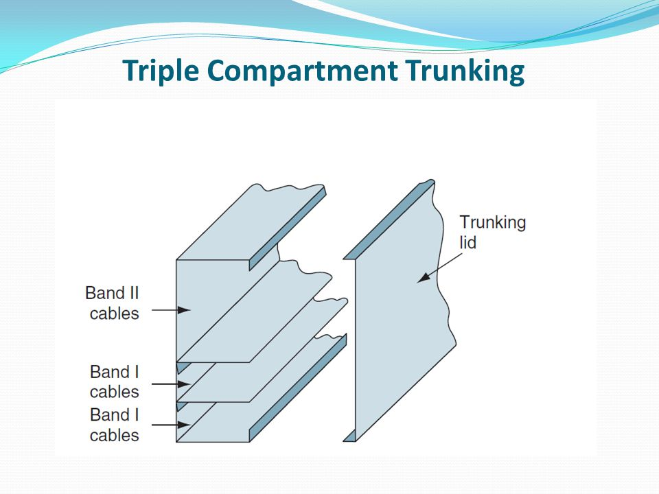 Triple Compartment Trunking