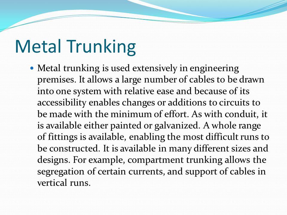 Metal Trunking