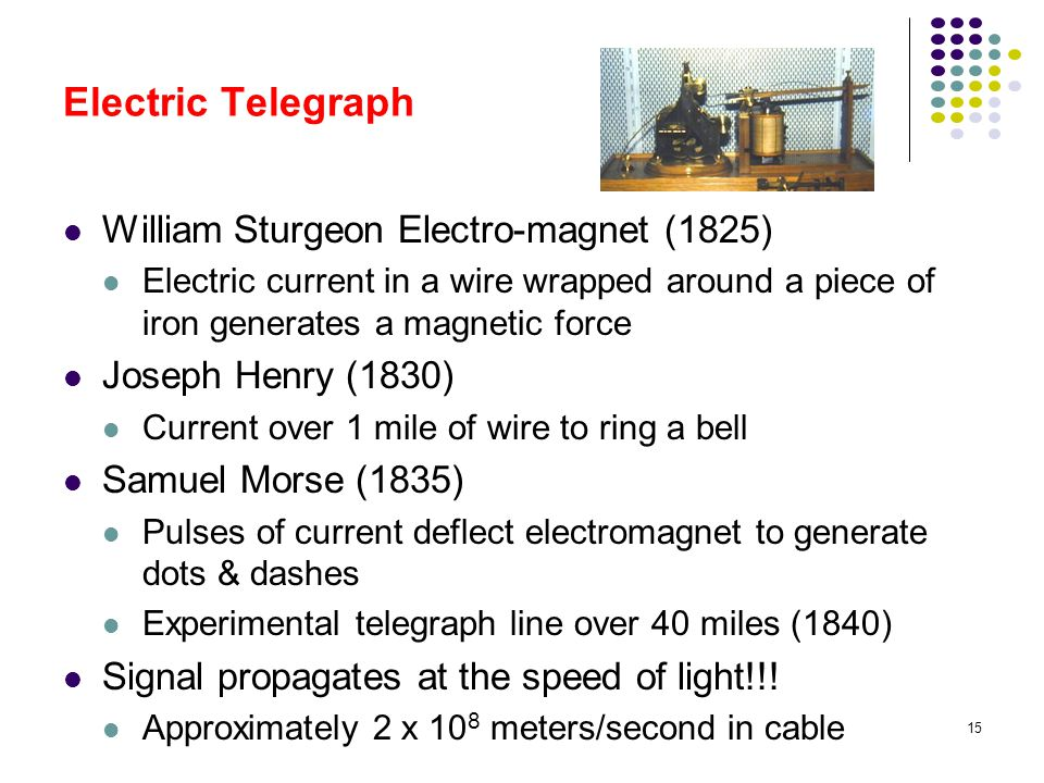 Electric Telegraph William Sturgeon Electro-magnet (1825)