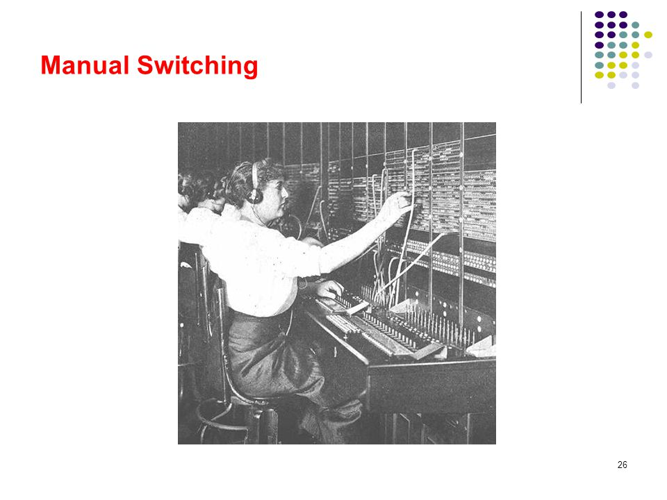 Manual Switching