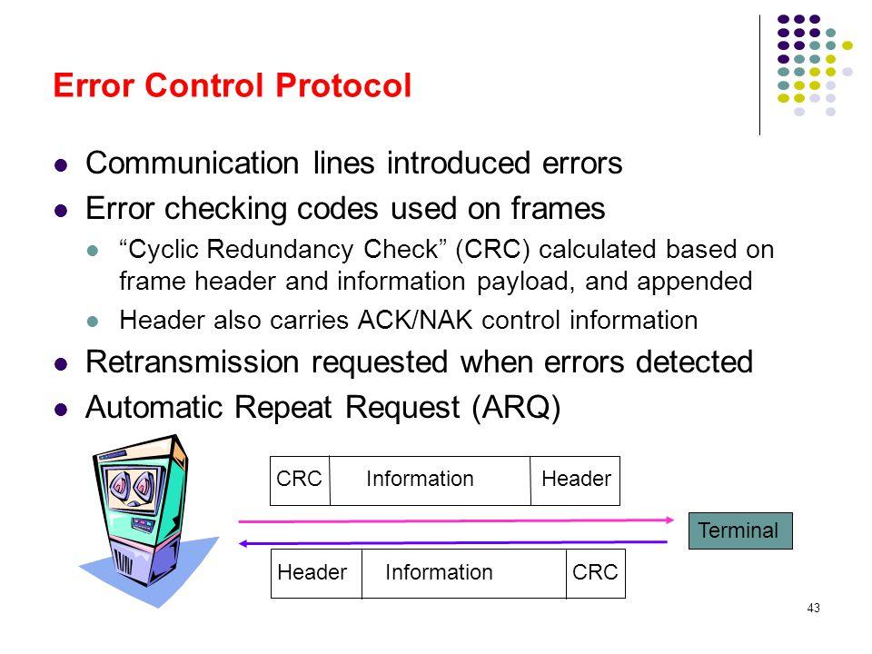 Error Control Protocol