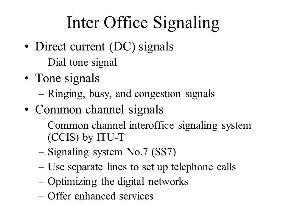 Inter Office Signaling