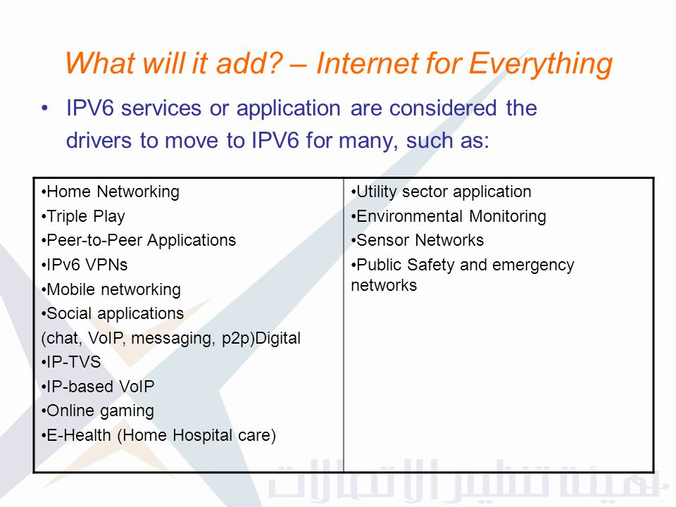 What will it add – Internet for Everything