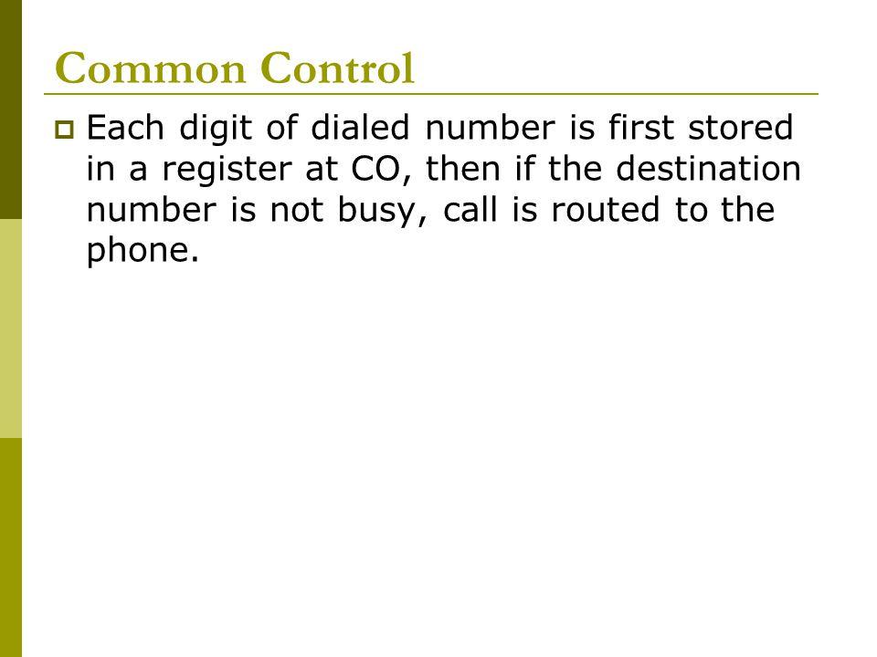 Common Control
