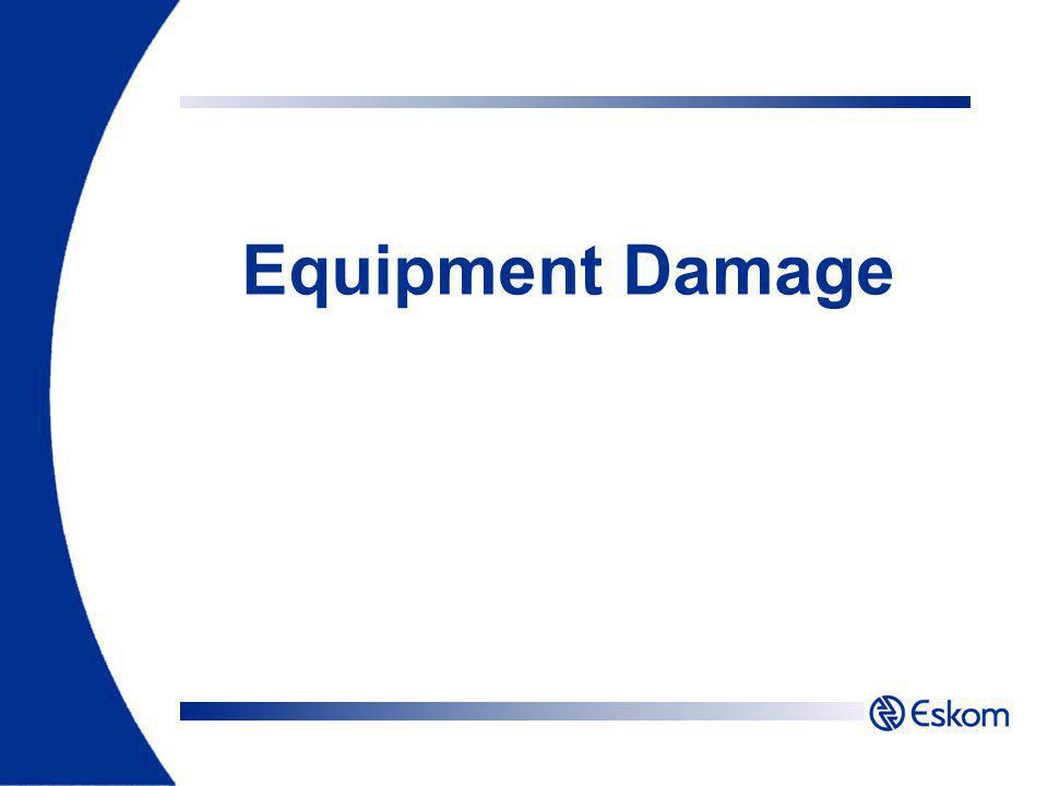 Equipment Damage