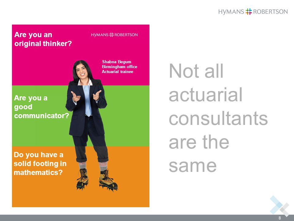 Not all actuarial consultants are the same