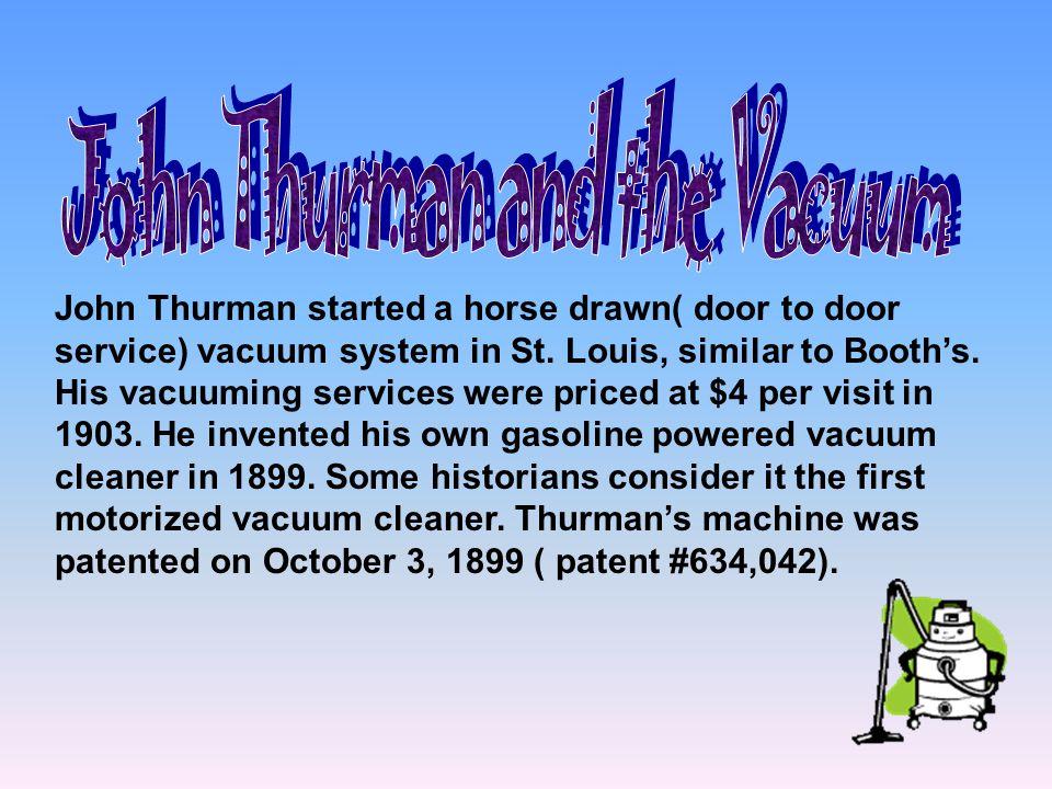 John Thurman and the Vacuum