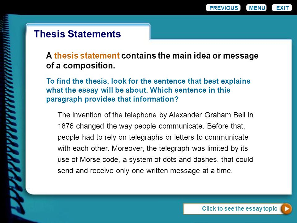 help with thesis statement Looking for some free examples of thesis get your paper off to a great start by constructing a great thesis statement » help with writing leave a.
