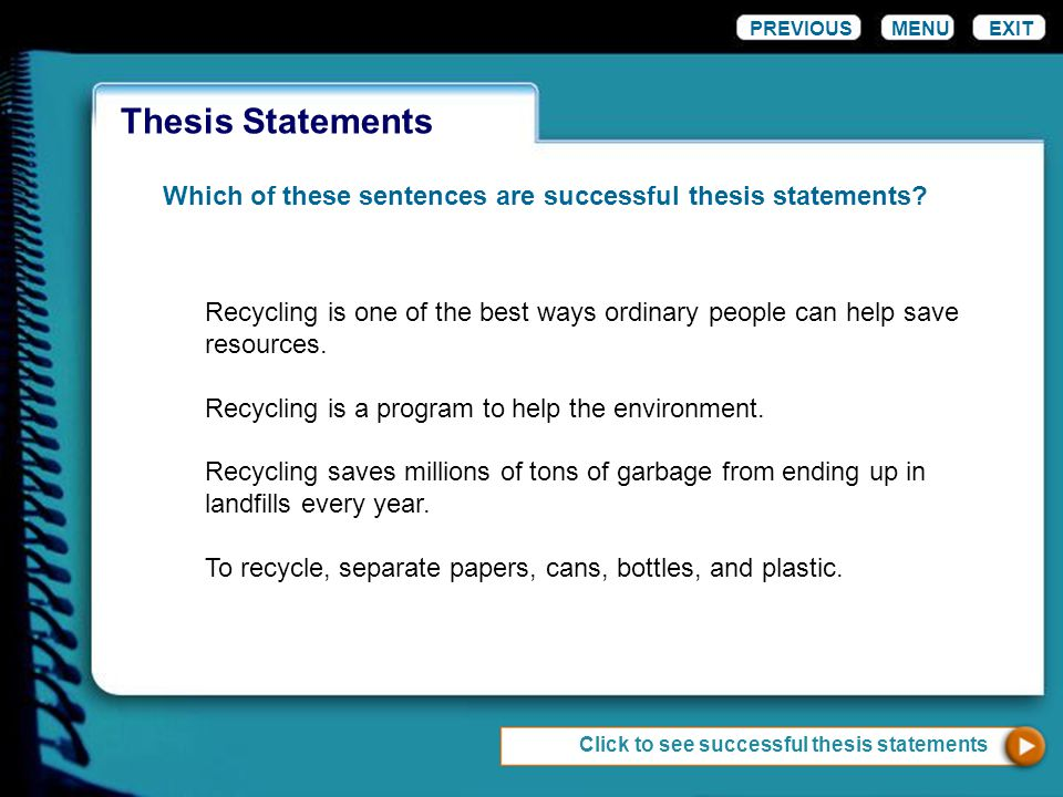 generating a thesis Thesis generator thesis statement the thesis statement model used in this example is a thesis with reasons even though television can be educational.