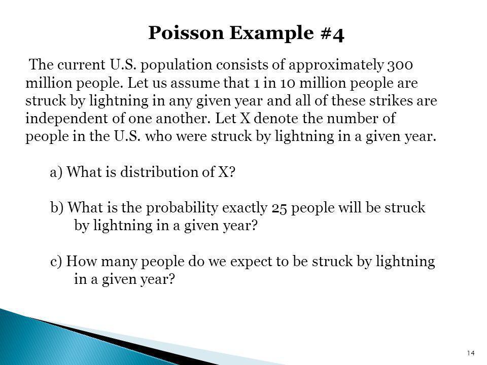 Poisson Example #4
