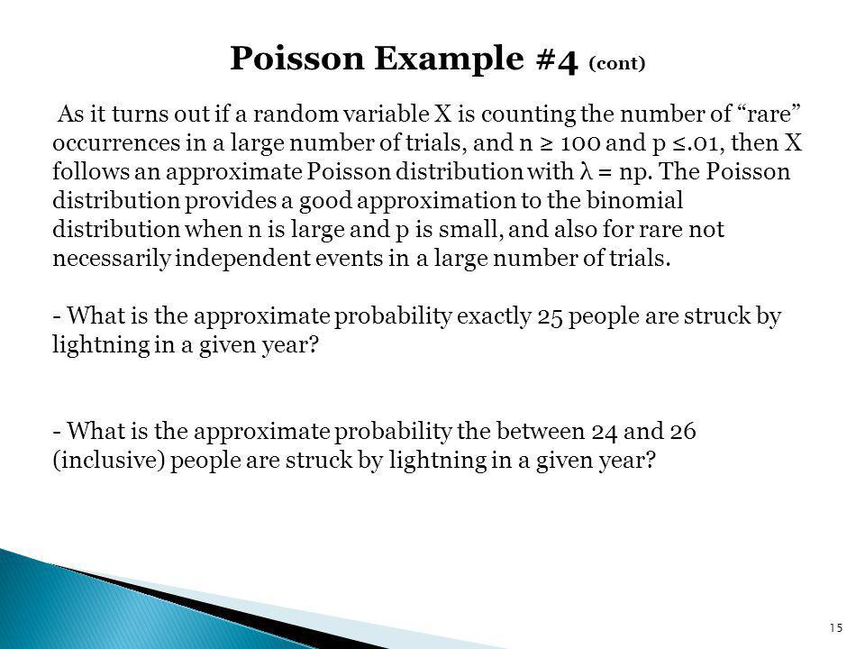 Poisson Example #4 (cont)