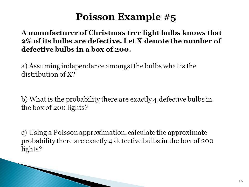 Poisson Example #5