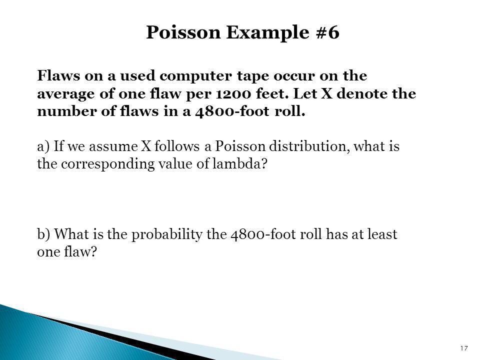 Poisson Example #6