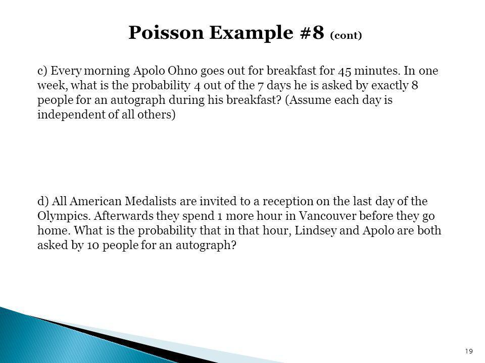 Poisson Example #8 (cont)