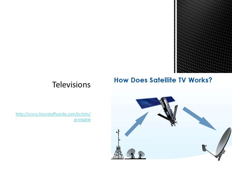 Televisions http://www.howstuffworks.com/tv.htm/printable