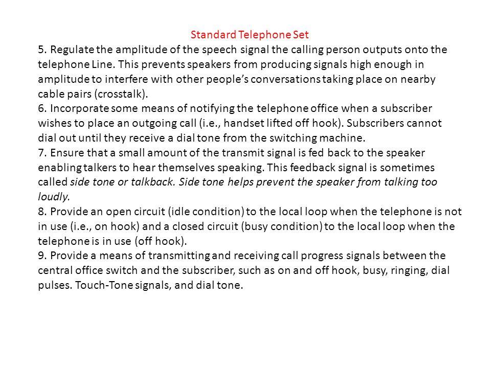 Standard Telephone Set