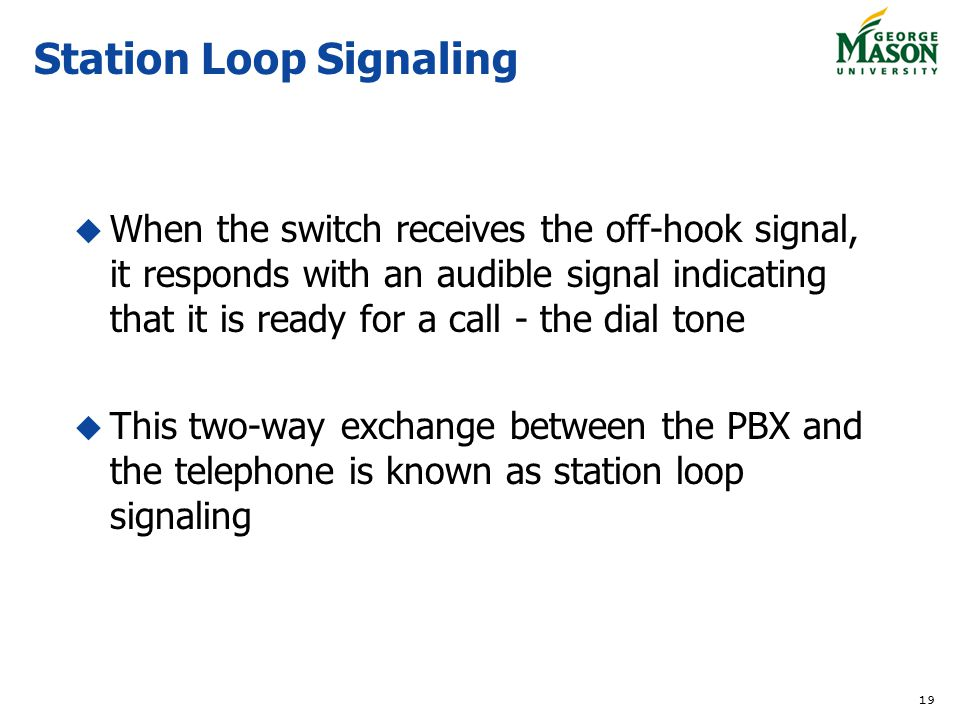 Station Loop Signaling