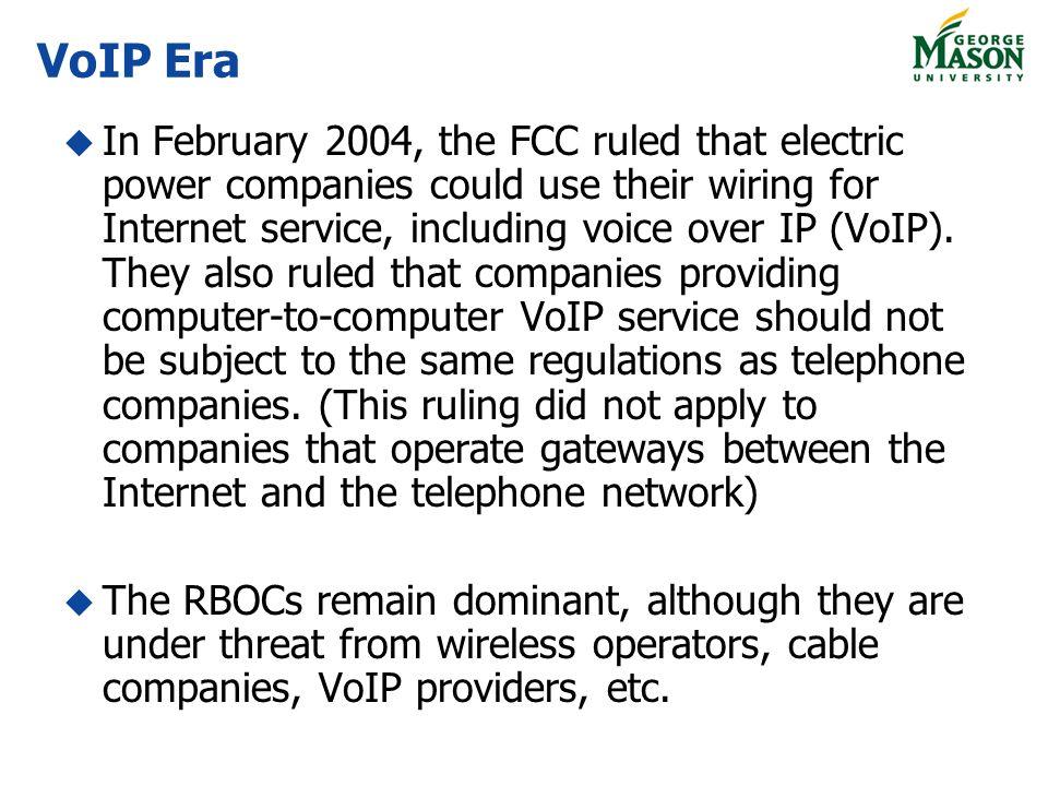 VoIP Era