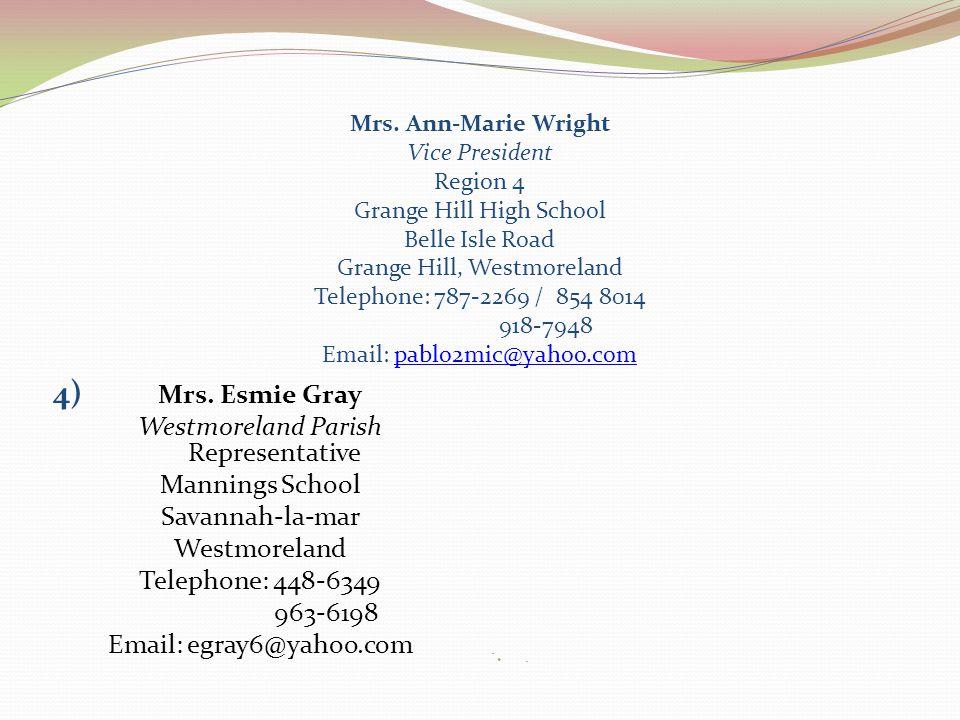 Westmoreland Parish Representative