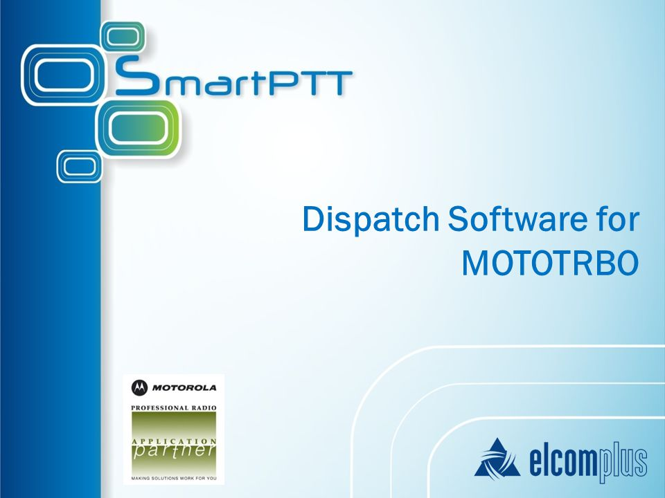 Dispatch Software for MOTOTRBO