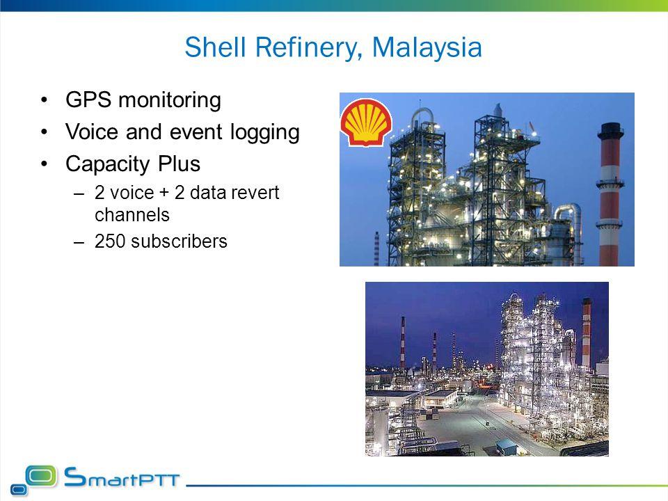 Shell Refinery, Malaysia