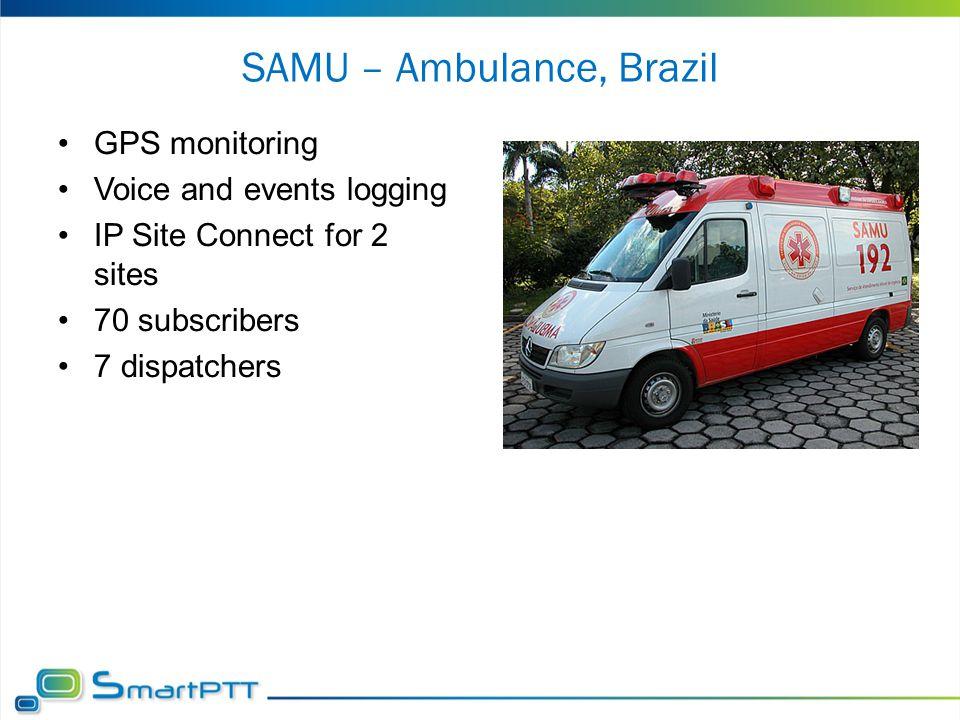 SAMU – Ambulance, Brazil