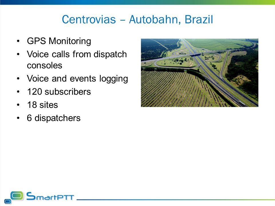 Centrovias – Autobahn, Brazil