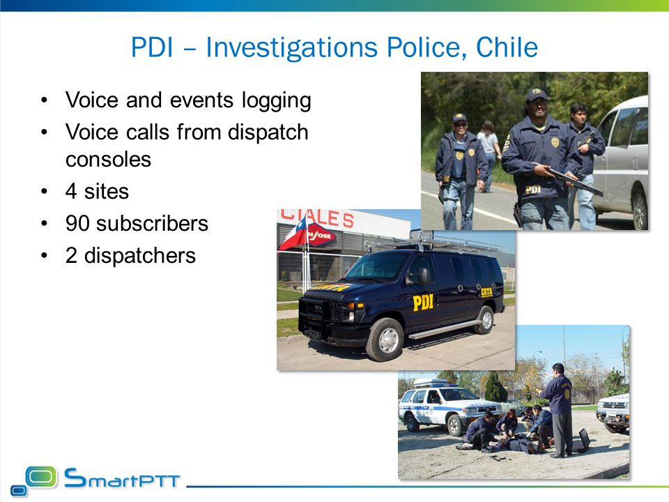 PDI – Investigations Police, Chile