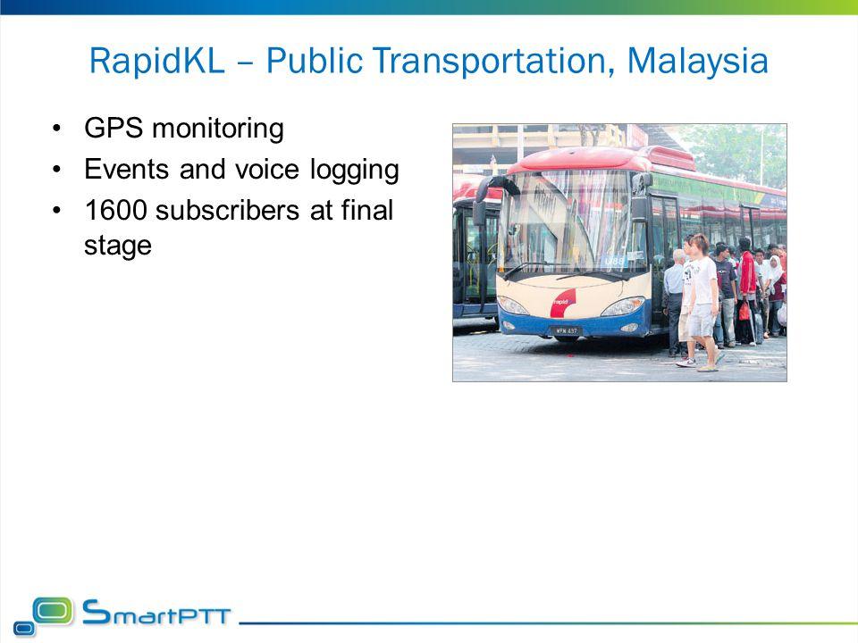 RapidKL – Public Transportation, Malaysia