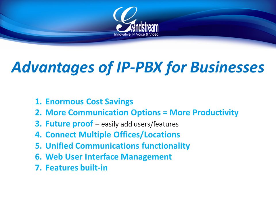 Advantages of IP-PBX for Businesses