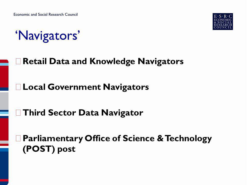 'Navigators' Retail Data and Knowledge Navigators