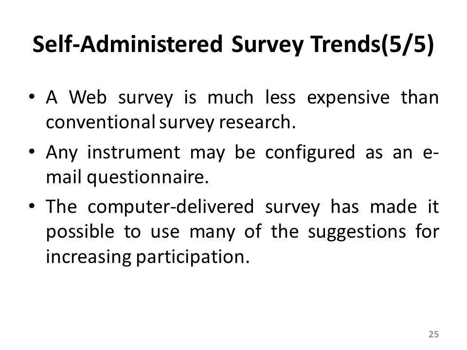 Survey via Telephone Interview