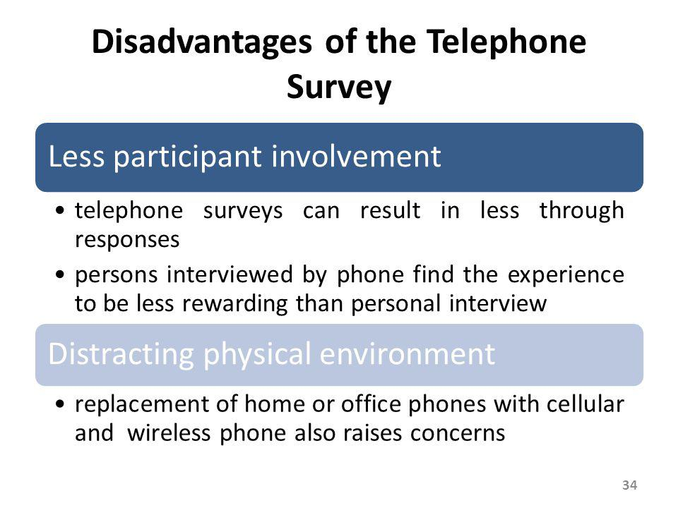 Telephone Survey Trends