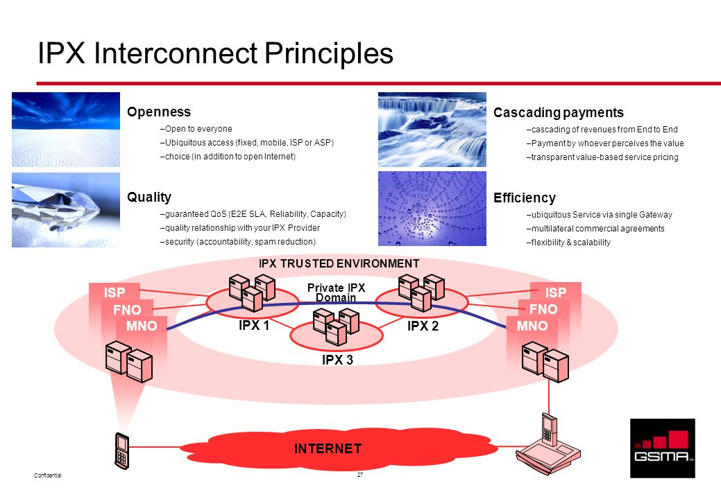 IPX Interconnect Principles